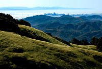 View of San Francisco from Mount Tamalpais